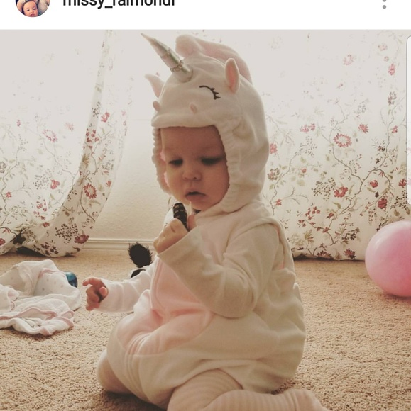 Carter's Unicorn Costume